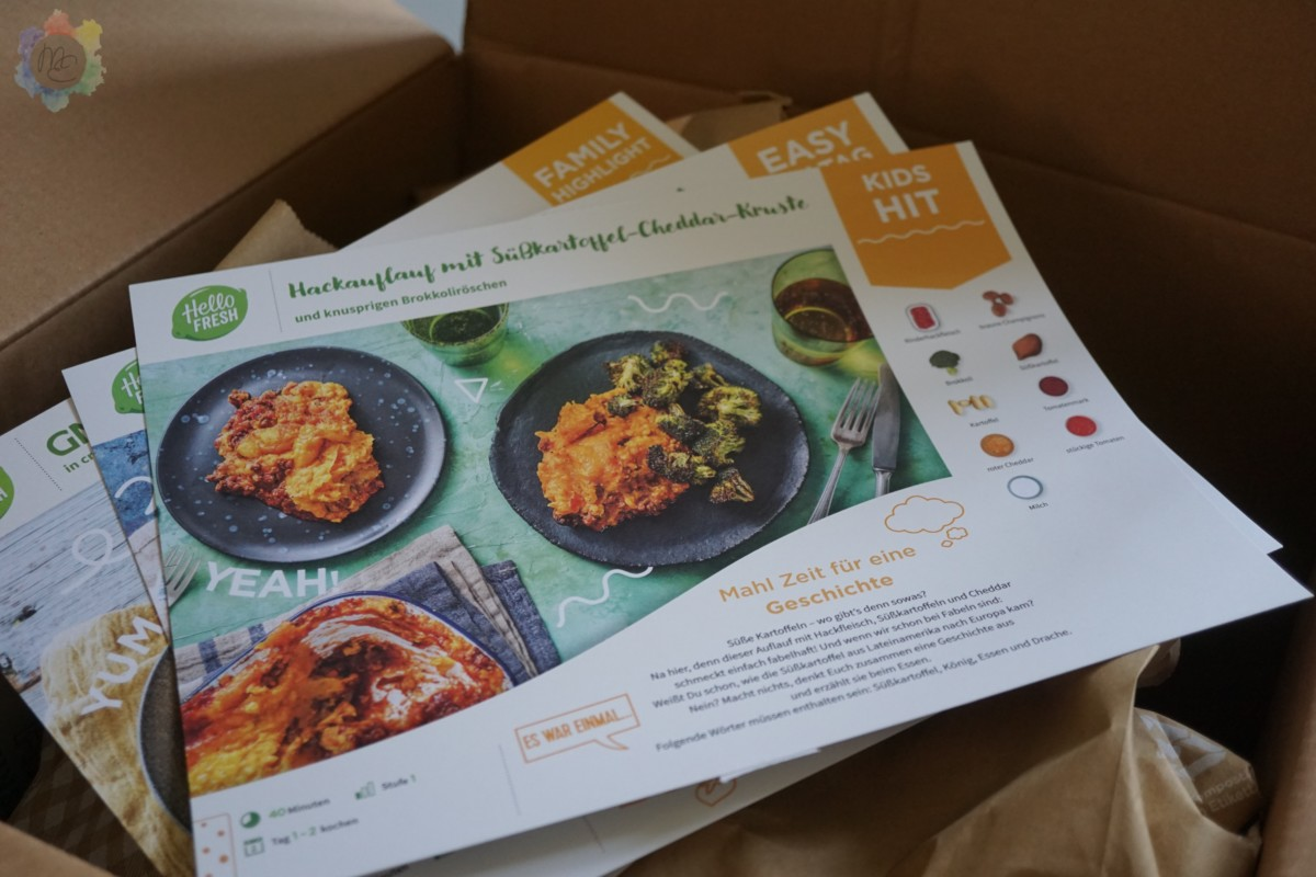 HelloFresh Family Box MiMi Erdbeer
